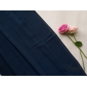 navy- malaysian georgette