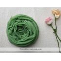 crinkle cotton- mint green