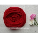 scarlet red- malaysian georgette