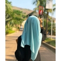 pastel green- malaysian georgette