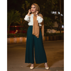 Forest - Pleated Plazzo Pant
