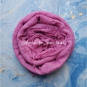 Crinkled cotton hijab- candy